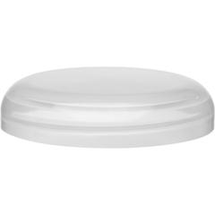 89mm 89-400 Natural Plastic Dome Cap, Unlined