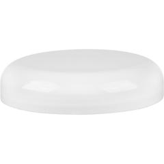 89mm 89-400 White Plastic Dome Cap w/HIS Foil Liner