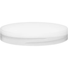 89mm 89-400 Natural Smooth Plastic Cap w/Foam Liner (3-ply)
