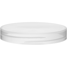 89mm 89-400 Natural Smooth Plastic Cap, Unlined