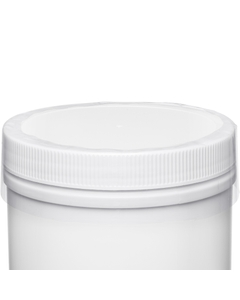 100mm Clear Preform Plastic Shrink Band For Canister Containers