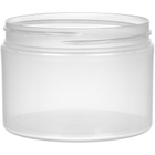 12 oz. Natural PP Stretch Profile Jar, Thick Wall, Straight Sided, 89mm 89-400