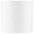12 oz. White Plastic Jar, Straight Sided, 89mm 89-400