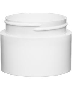 3 oz. White PP Plastic Open Bottom Jar, 63mm 63-400