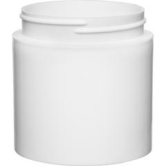 6 oz. White PP Plastic Open Bottom Jar, 70mm 70-400