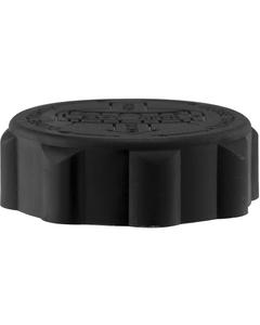 45mm 45-400 EZ-Safe® Black Child Resistant Cap w/Foam Liner (3-ply)