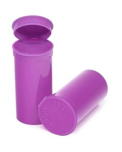 13 Dram Purple Opaque Plastic Pop Top Container, 315/cs