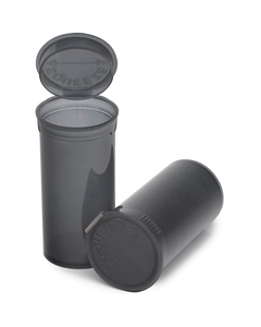 13 Dram Gray Plastic Pop Top Container, 315/cs