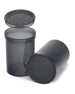 30 Dram Gray Plastic Pop Top Container, 150/cs