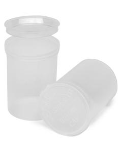 30 Dram Clear Plastic Pop Top Container, 150/cs