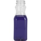 10 oz. Clear PET Plastic Tamper Evident Juice Bottle, 38mm 358DBJ