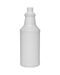 32 oz. Natural HDPE Plastic Carafe Bottle, 28mm 28-410