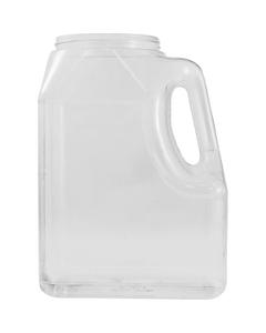 160 oz. Clear PVC Plastic Oblong Jar with Handle 110mm 110-400