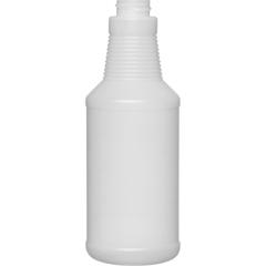 16 oz. Natural HDPE Plastic Carafe Bottle, 28mm 28-400, 28 Grams