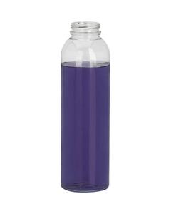 16 oz. Clear PET Plastic Energy Shot Bottle, 38mm 358DBJ
