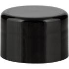 24mm 24-410 Black Smooth Plastic Cap w/PS22 Liner (Printed)