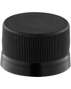 28mm PCO-1810 Black Tamper Evident Cap (Use with 32 oz. Growlers)