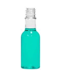 """2 oz. Clear PET Plastic """"Woozy"""" Bottle, 24mm 18-410"""