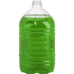 3 Liter Clear PET Pinch Grip Juice Bottle, 38mm 358DBJ