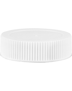 38mm 38-400 White Heavy Weight Cap w/HIS Liner for PE