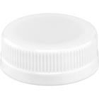 358DBJ 38mm White Tamper Evident Plastic Cap