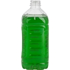 48 oz. Clear PET Pinch Grip Juice Bottle, 38mm 358DBJ