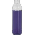 13.5 oz. Clear PET Plastic Tamper Evident AF Round Bottle, 38mm 358DBJ