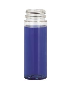 4 oz. Clear PET Plastic Energy Shot Bottle, 38mm 358DBJ