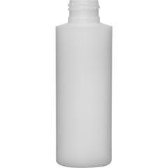 4 oz 24mm 24-410 Natural HDPE Cylinder Bottle, 12 Gram, 468/Box