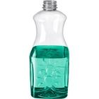 64 oz. Clear PET Plastic Tamper Evident Juice Bottle, 38mm 358DBJ