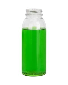 8 oz. Clear PET Plastic Energy Shot Bottle, 38mm 358DBJ