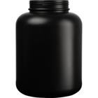 1.8 Gallon Black HDPE Plastic Wide Mouth Jar, 120mm 120-400, 230 Grams