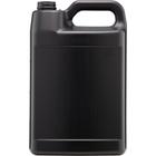 1 Gallon Black HDPE Plastic F-Style Bottle, 38mm 38-400