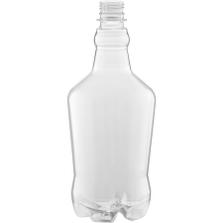 32 oz. Clear PET Plastic Growler Bottle, 28mm PCO-1810