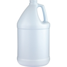 1 Gallon Blue/White HDPE Plastic Round Jug (130 Gram Heavy Wt.), 38mm 38-400