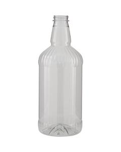 1.75 Liter Clear PET Plastic Mixer Bottles, 38mm 38-400