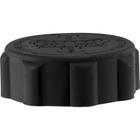 38mm 38-400 EZ-Safe® Black Child Resistant Cap w/Foam Liner (3-ply)