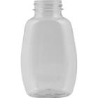 9 oz. Clear PET Plastic Clark Oblong Bottle, 38mm 38-400