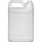 1 Gallon Natural HDPE Plastic F-Style Bottle, 38mm 38-400