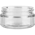 2 oz. Clear PET Plastic Wide Mouth Jar, 58mm 89-400