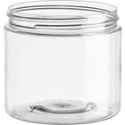 16 oz. Clear PET Plastic Jar, 89mm 89-400