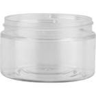 4 oz. Clear PET Plastic Wide Mouth Jar, 70mm 70-400