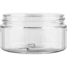 8 oz. Clear PET Plastic Wide Mouth Jar, 89mm 89-400