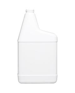 32 oz. White HDPE Plastic RTU Spray Bottle, 28mm 28-400