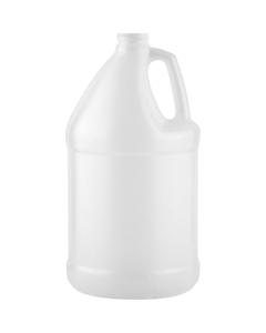 1 Gallon HDPE Plastic Round Jug, 38mm 38-400, 130 Grams