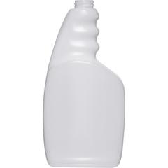 32 oz. Natural HDPE Plastic Trigger Spray Bottle, 28mm 28-400