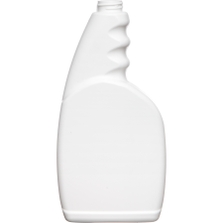 23 oz. White HDPE Plastic Trigger Spray Bottle w/PCR, 28mm 28-400