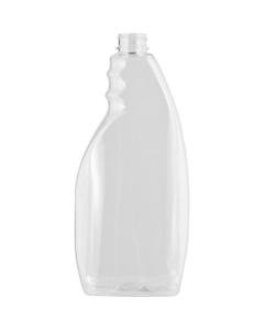 22 oz. Clear PET Plastic Pistol Grip Sprayer Bottle, 28mm 28-400