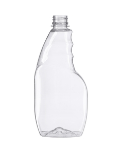 16 oz. Clear PET Plastic Trigger Spray Bottle, 28mm 28-400