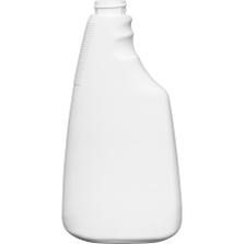16 oz. White HDPE Plastic Trigger Spray Bottle, 28mm 28-400
